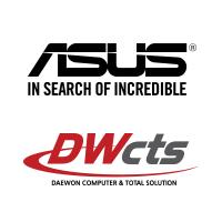 ASUS 대원CTS 브랜드로그