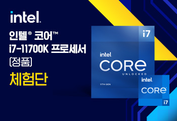 인텔 코어i7-11세대 11700K (로켓레이크S) (정품) CPU 체험단