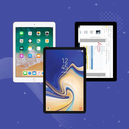 갤럭시탭S4 vs 아이패드 6세대 vs 서피스Go