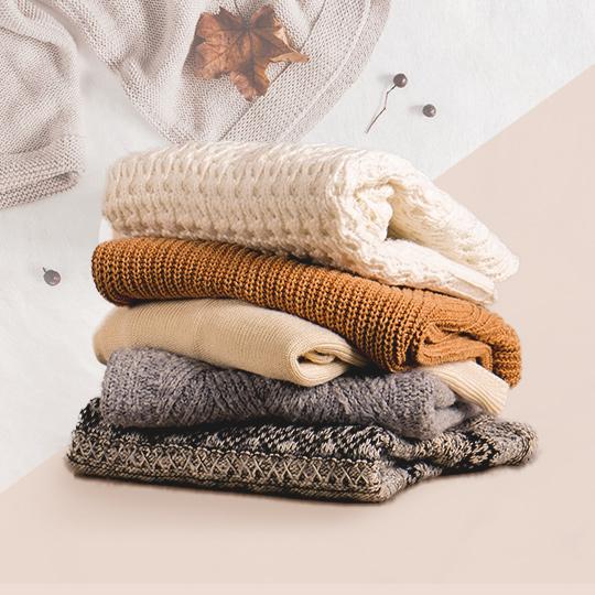이 계절, 더할 나위 없이 좋은 스웨터