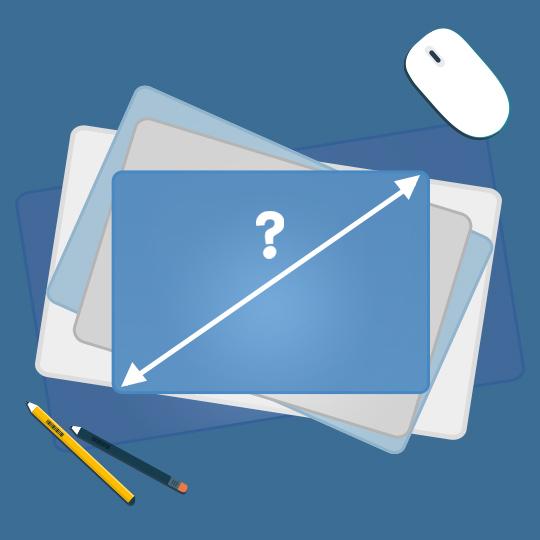 노트북 몇인치가 적당할까?