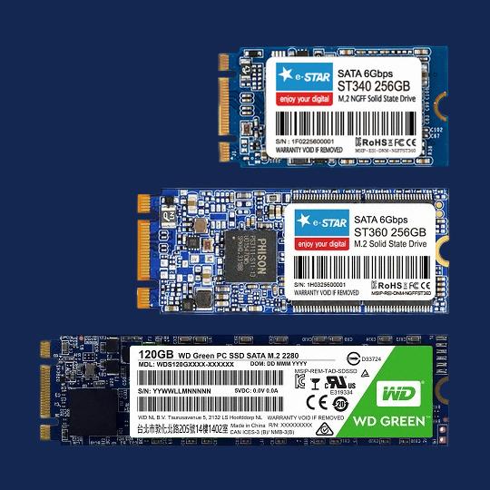 인포그래픽 M.2 SSD 구매팁!