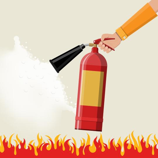 [소화기]  최고의 화재 보험!