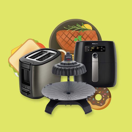 그릴, 튀김기, 토스터 인기요인은?