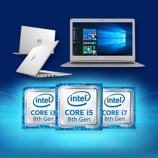 인텔 8세대 노트북 얼마나 좋아졌나