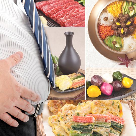 풍성한 한가위 풍성한 뱃살 다이어트