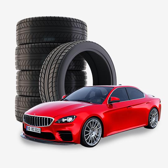 승용차 타이어 계급도