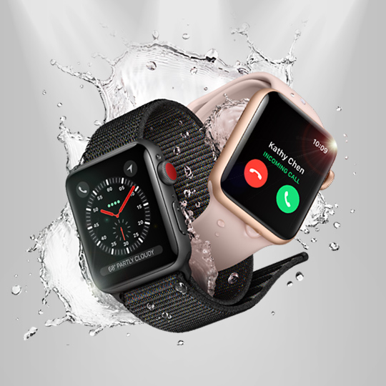 Apple Watch Series 3 인포그래픽