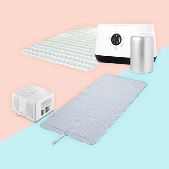4계절 사용가능 냉온수매트-!