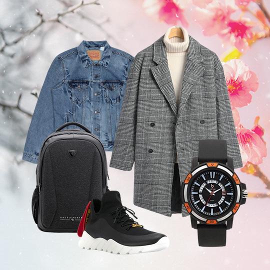 겨울과 봄 사이 간절기 패션!