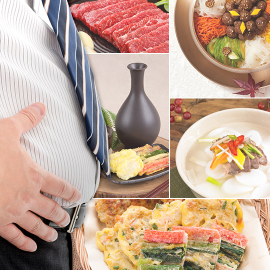 풍성한 명절,풍성해진 뱃살 연휴 끝! 다이어트시작