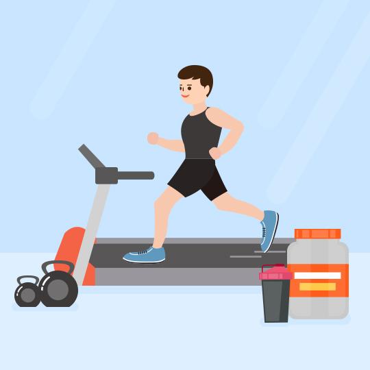운동 효율을 높여줄  헬스보충제