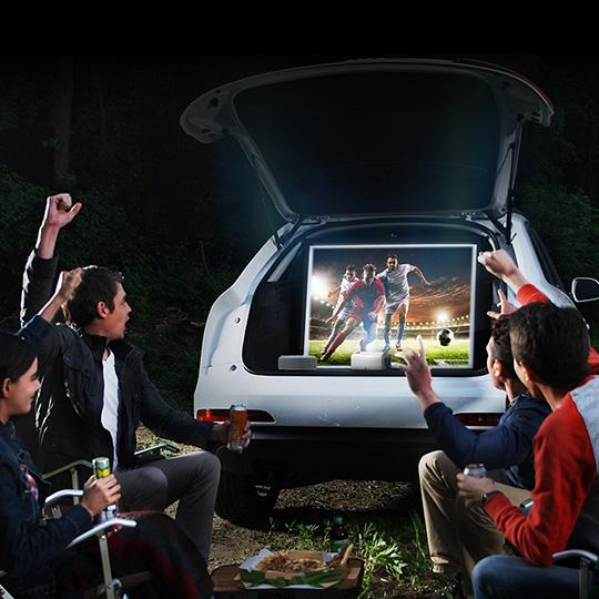 웹OS 적용으로 더 스마트해진 LG 미니빔 TV!