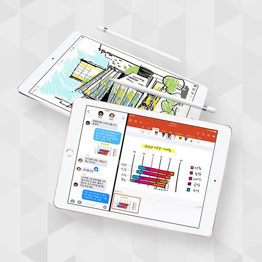 애플 펜슬을 지원하는 아이패드 6세대 출시!