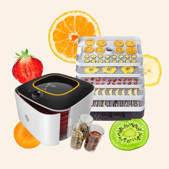 영양과 맛은 꽉 잡고 수분만 쏙 뺀 식품건조기!