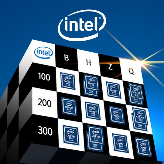 인텔 데스크탑 칩셋 가이드