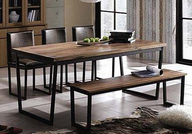 현대리바트 리바트이즈마인 갤러리 식탁세트 (벤치+의자3개 ...