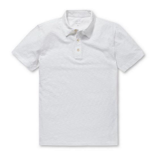 코오롱인더스트리 시리즈 내츄럴 베이직 카라 티셔츠 SATAM17222WHX_이미지