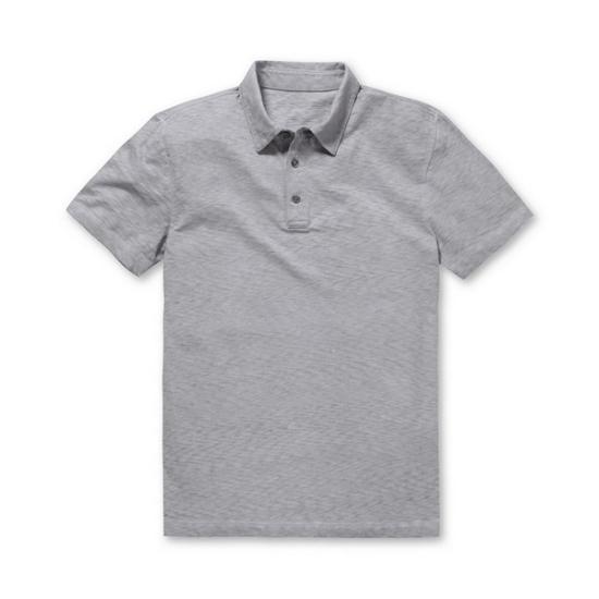 코오롱인더스트리 시리즈 내츄럴 베이직 카라 티셔츠 SATAM17221GYX_이미지