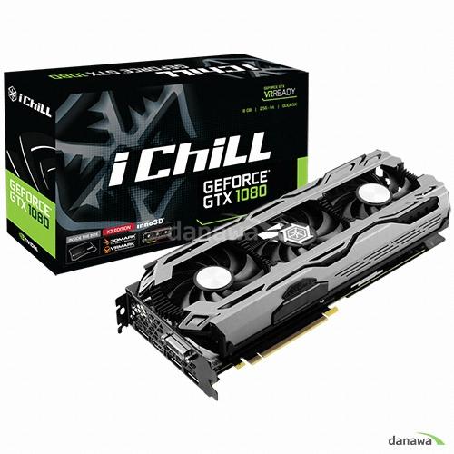 inno3D iChiLL 지포스 GTX1080 D5X 8GB X3_이미지