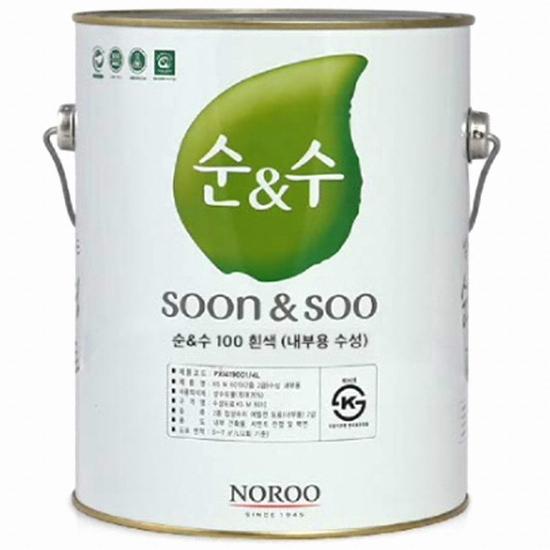 노루페인트 순앤수 내부 100 흰색 페인트 (1000ml) 종합정보 행복 ...