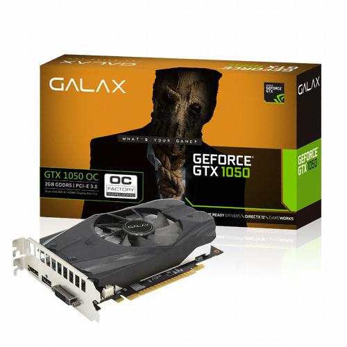 갤럭시 GALAX 지포스 GTX1050 OC D5 2GB_이미지