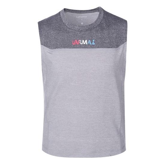 라푸마  KIDS 플리즈마 민소매 티셔츠 (LME06B491LE, 그레이)_이미지