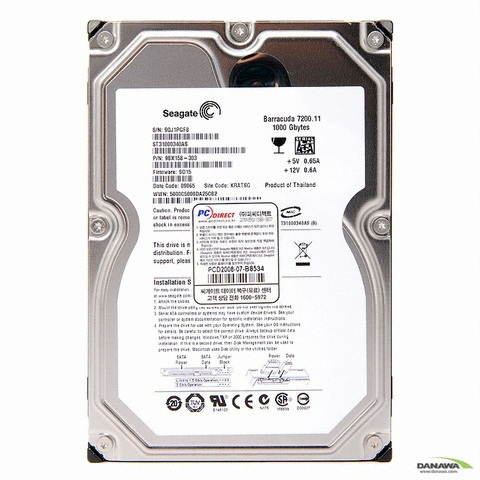 Seagate  1TB Barracuda 7200.11 ST31000340AS (SATA2/7200/32M)_�̹���