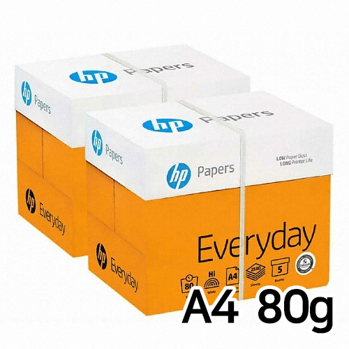 HP 에브리데이 복사용지 A4 80g 500매 (10개, 5000매)_이미지