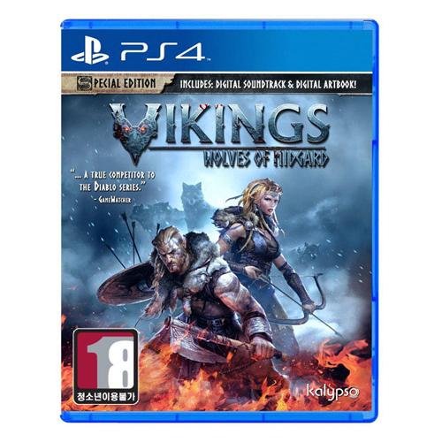 바이킹 - 미드가르드의 늑대 (Vikings - Wolves of Midgard) PS4 한글판,일반판_이미지