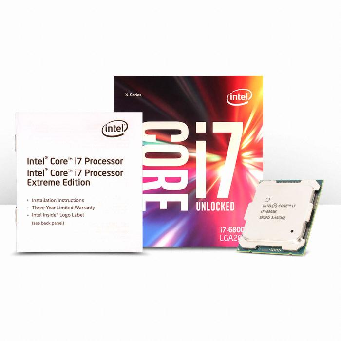 인텔 하이엔드 데스크탑 6800K (브로드웰-E) (정품)_이미지