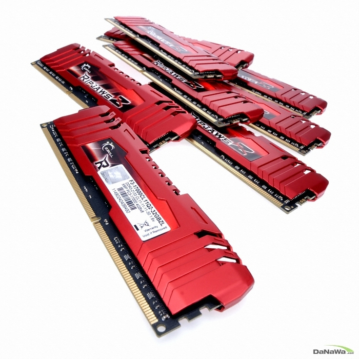 G.SKILL  DDR3 32G PC3-17000 CL11 RIPJAWS ZL (4Gx8) Ƽ����ǰ_�̹���