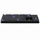 ABKO  HACKER K850 알루미늄 레트로 써클 키캡 LED 기계식 (백축)_이미지_1