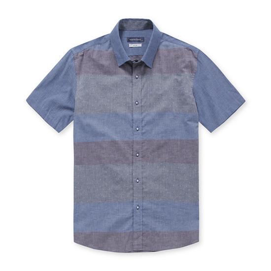 코오롱인더스트리 브렌우드 컬러 믹스 블럭 셔츠 BRSAM17754BUX_이미지