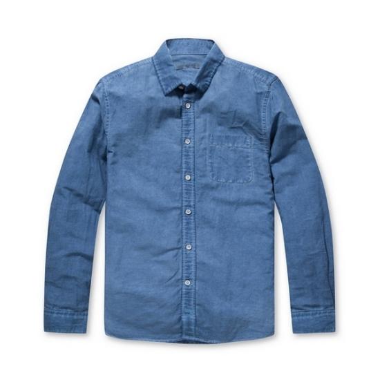 코오롱인더스트리 시리즈 린넨 빈티지 워싱 셔츠 41SAM17282BUX_이미지