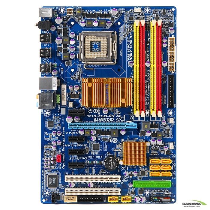 gigabyte ga ep43 ds3l manual