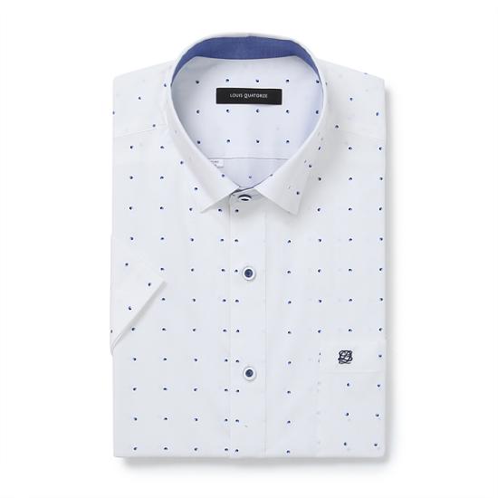 루이까또즈 일반 반팔 와이셔츠 L7E4822_이미지
