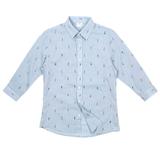 모노핏옴므 보이 패턴 7부 셔츠 HTS0301883_이미지