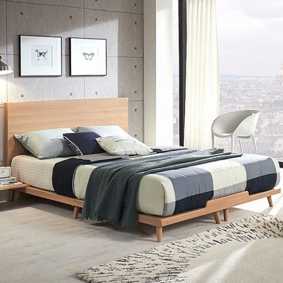 세진TLS 파로마 바이든 와이드 평상형 침대 슈퍼싱글 (SS) (매트별도)_이미지