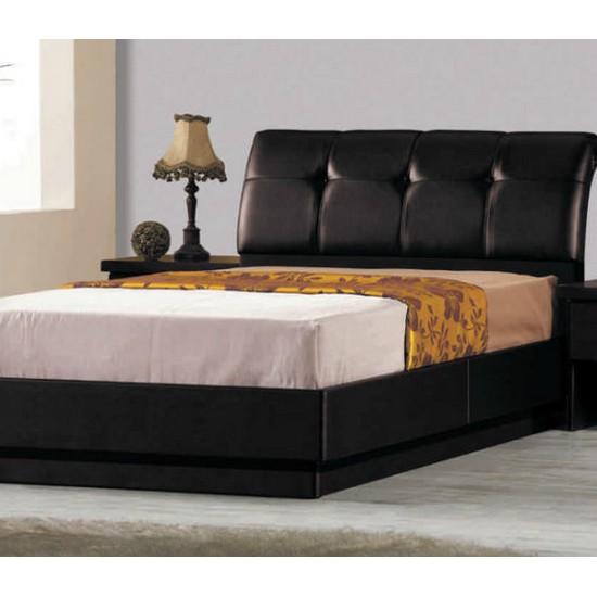 현대디자인가구 우아미가구 티에루 블랙 침대 (슈퍼싱글, 독립 ...