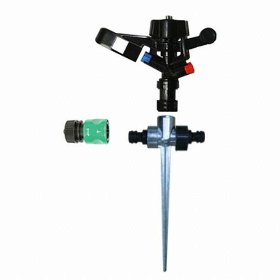다농 스프링쿨러 헤드 DP-2 + 다본조용 스파이크 세트 (13~16mm 호스용)_이미지