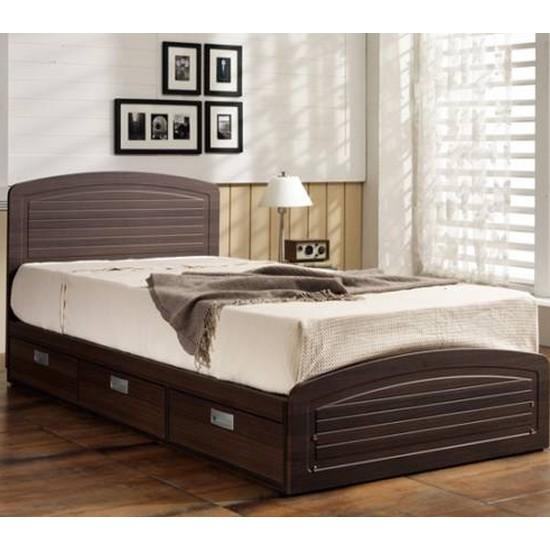 현대디자인가구 우아미가구 코지 평상형 수납 침대 싱글 (S ...