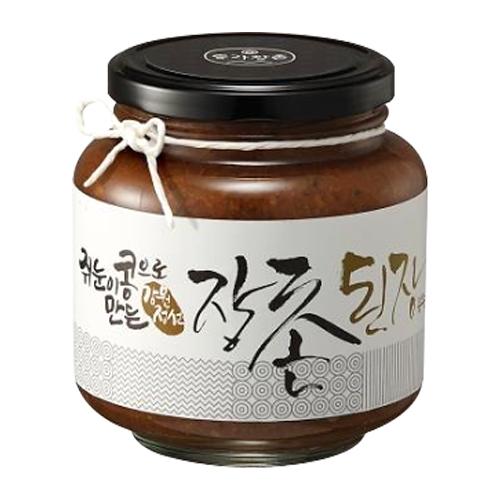 동트는농가 쥐눈이콩으로 만든 장촌 된장1kg (1개)_이미지