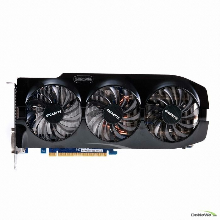 GIGABYTE  ������ GTX670 UDV OC D5 2GB WINDFORCE 3X_�̹���