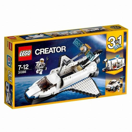 레고 크리에이터 우주왕복선 익스플로러 (31066) (정품)_이미지