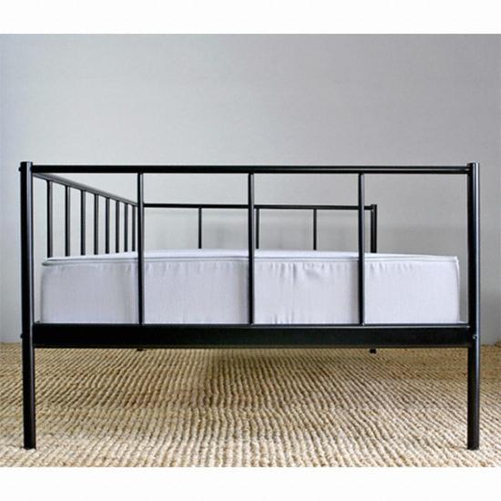 이케아 RISHULT 침대-블랙 (싱글, 10cm매트리스) 종합정보 행복 ...