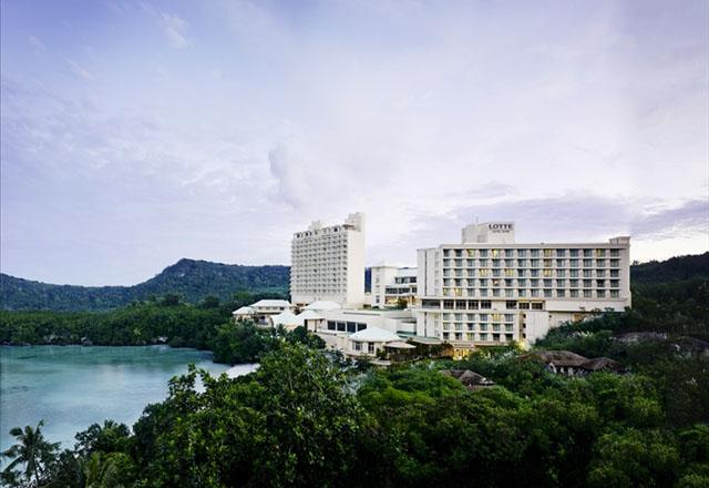 [오전출발] 괌 롯데 오션프론트디럭스룸 에어텔 진에어
